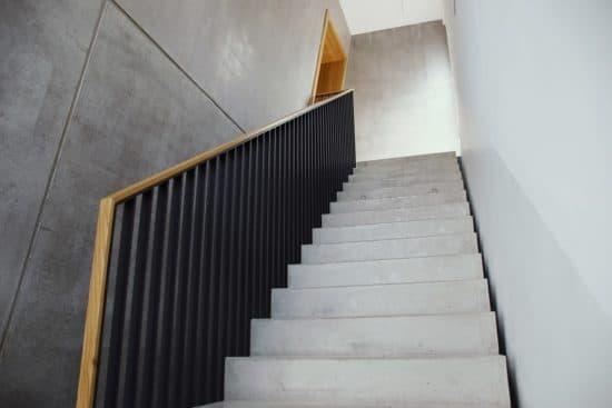 Verwendete Materialien für Treppen, Küchen & Co.