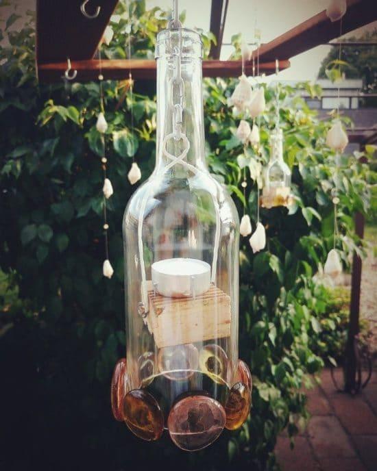Für leere Flaschen gibt es viele kreative Upcycling-Ideen