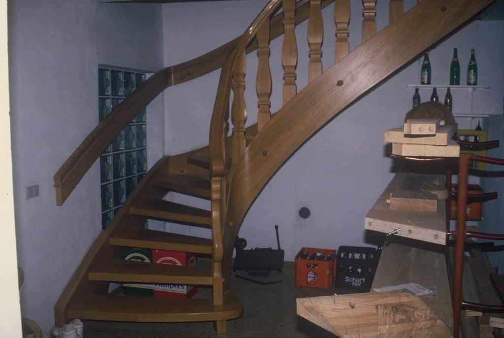 Lagerung-Treppe-damals