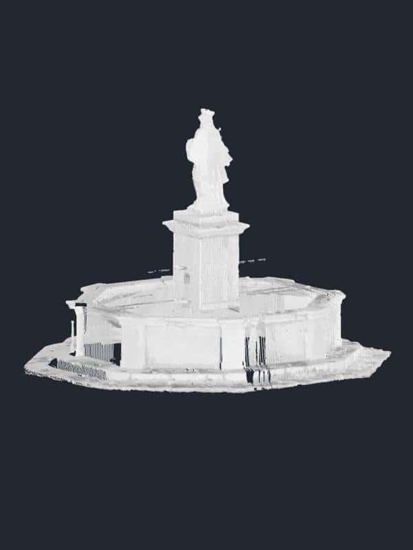3D Scan Punktwolke