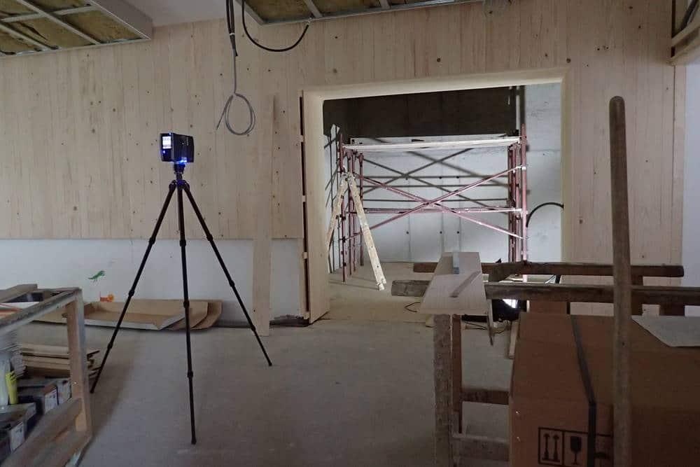 3D Scanning zur überwachung der Baufortschritt