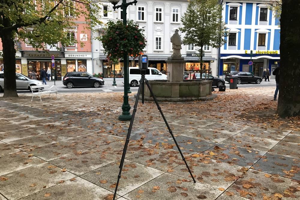 3d scanning von Denkmälern