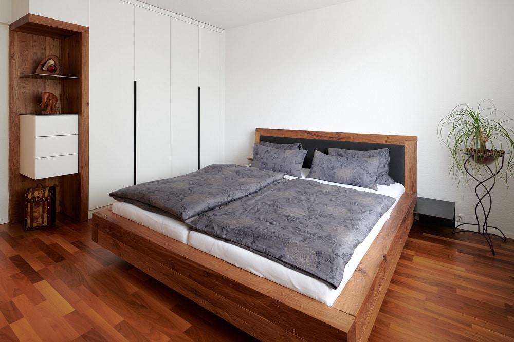 Schlafzimmer Design Rustikal-Modern